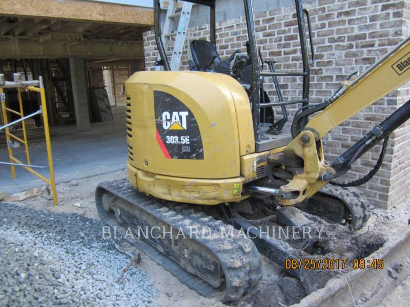 CATERPILLAR KETTEN-HYDRAULIKBAGGER 303.5E SO equipment  photo 3