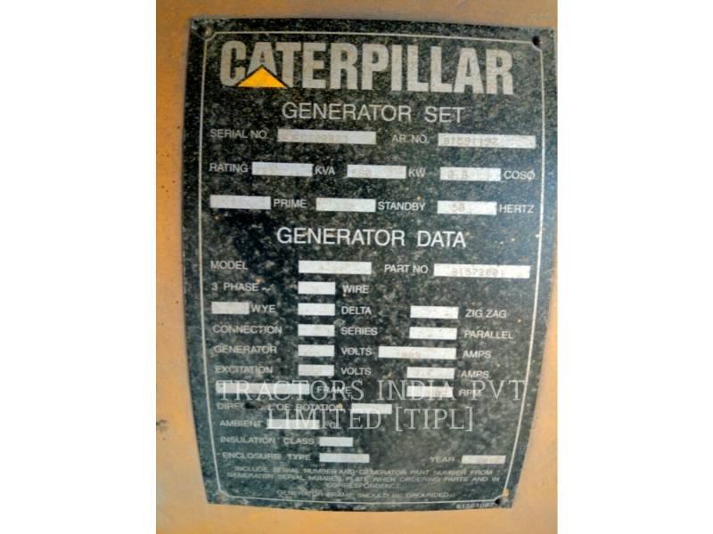 CATERPILLAR STATIONARY - DIESEL 725 KVA equipment  photo 14