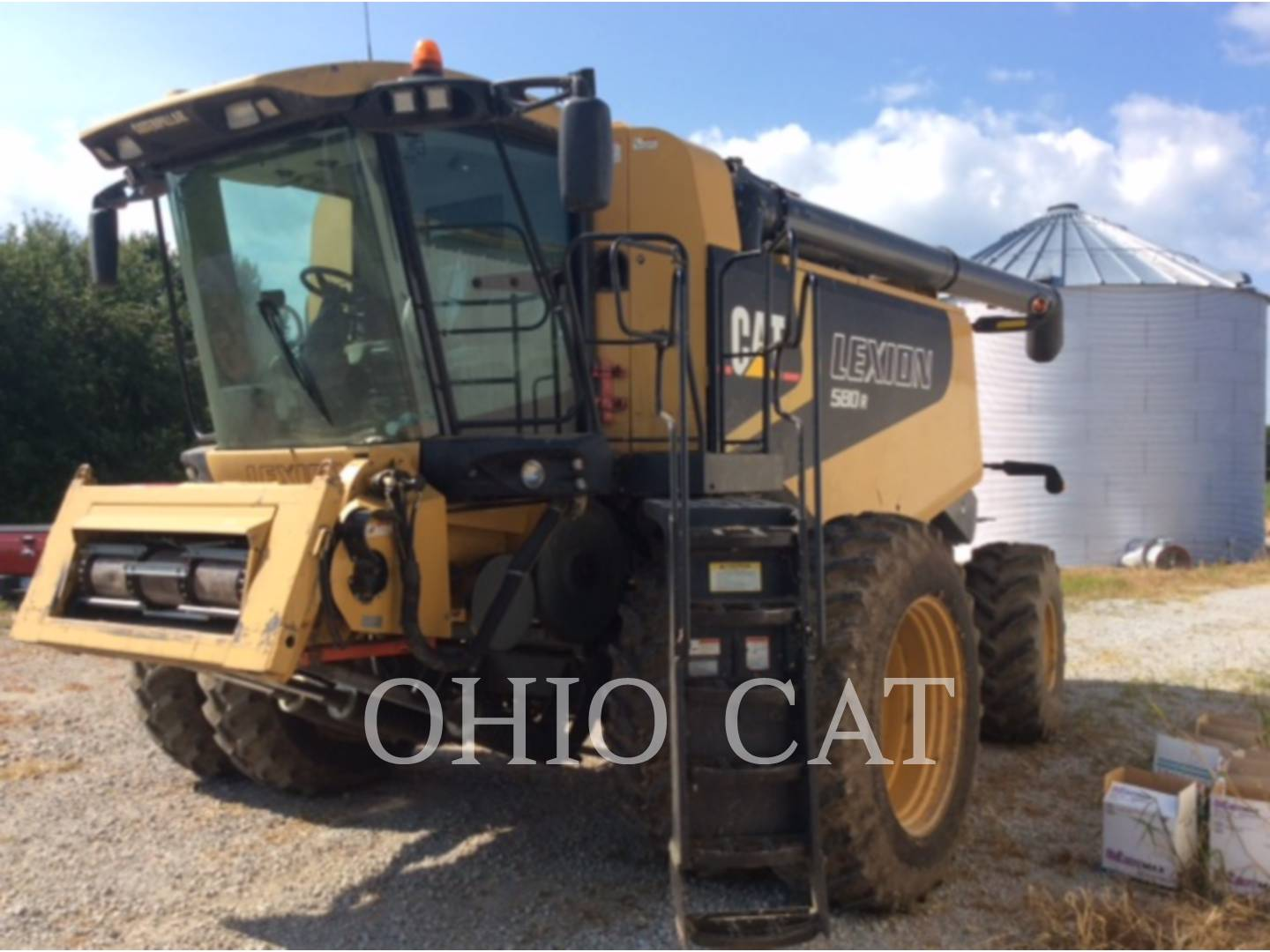 Detail photo of 2005 Claas LEX580R FR from Construction Equipment Guide