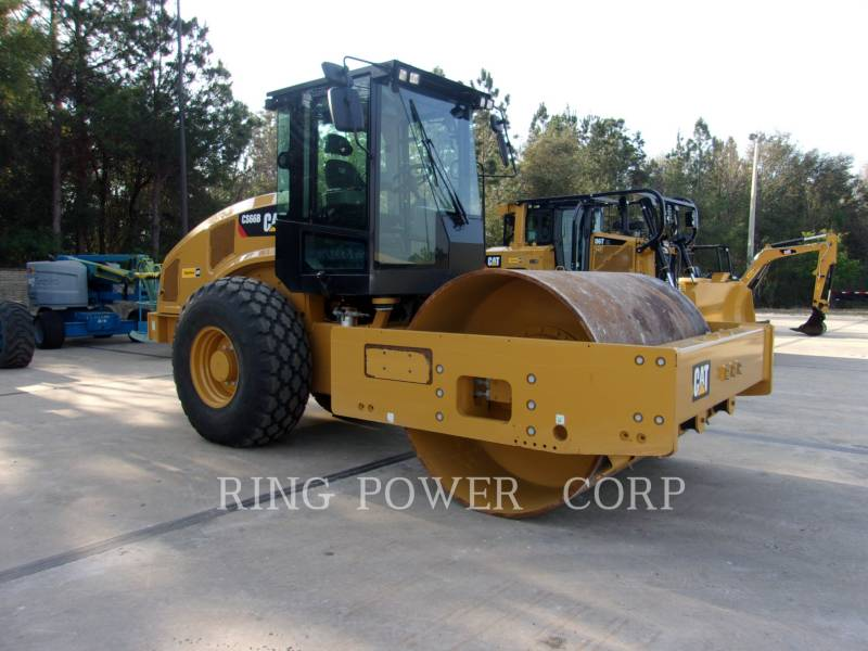 CATERPILLAR TANDEMVIBRATIONSWALZE, ASPHALT CS66BCAB equipment  photo 2
