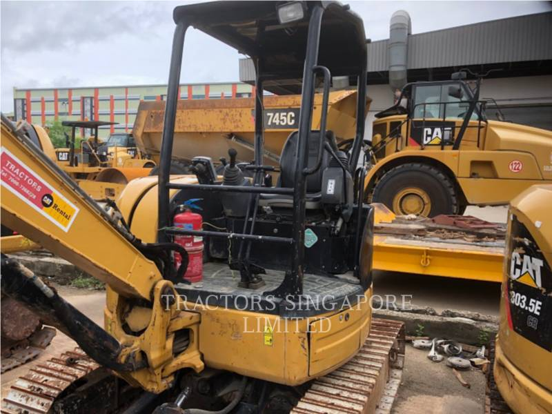 CATERPILLAR TRACK EXCAVATORS 303.5ECR equipment  photo 17