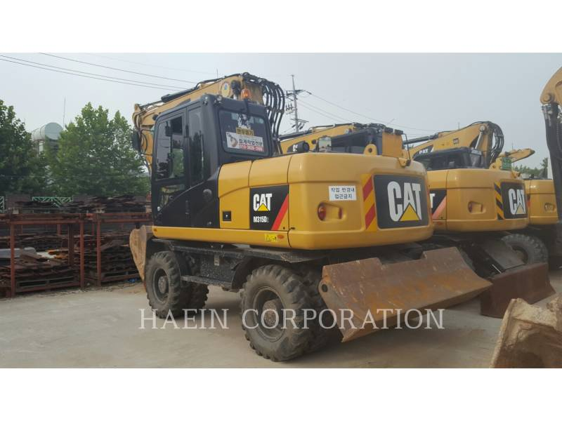 CATERPILLAR PELLES SUR PNEUS M315D2 equipment  photo 3