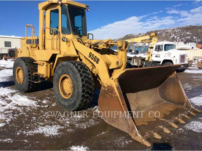 CATERPILLAR WHEEL LOADERS/INTEGRATED TOOLCARRIERS 950B equipment  photo 4