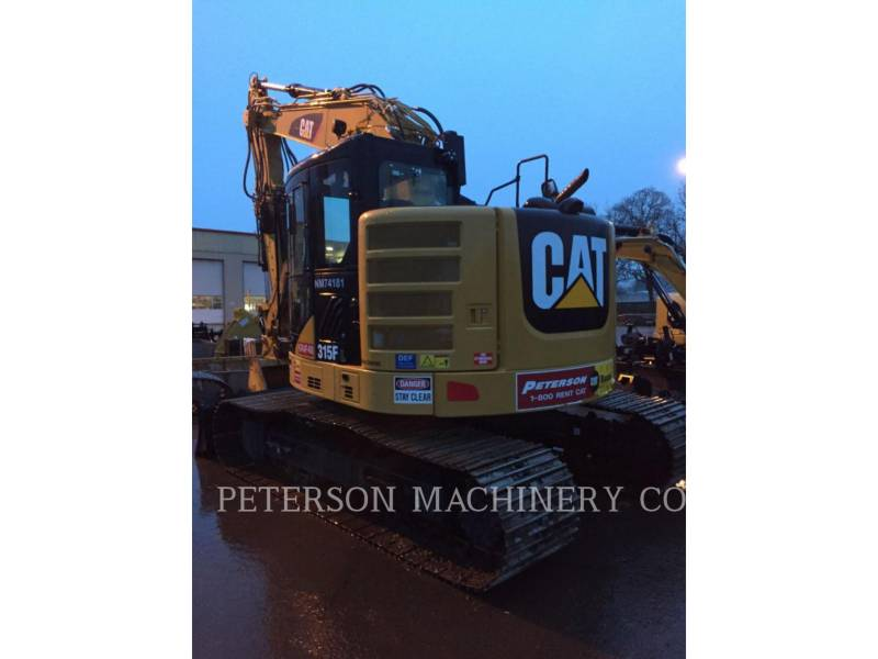 CATERPILLAR TRACK EXCAVATORS 315F equipment  photo 4