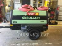 SULLAIR COMPRESSOR DE AR 185COMPWHL equipment  photo 1