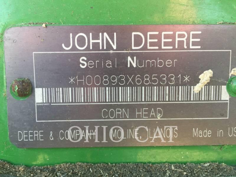 JOHN DEERE COMBINADOS 893 equipment  photo 17