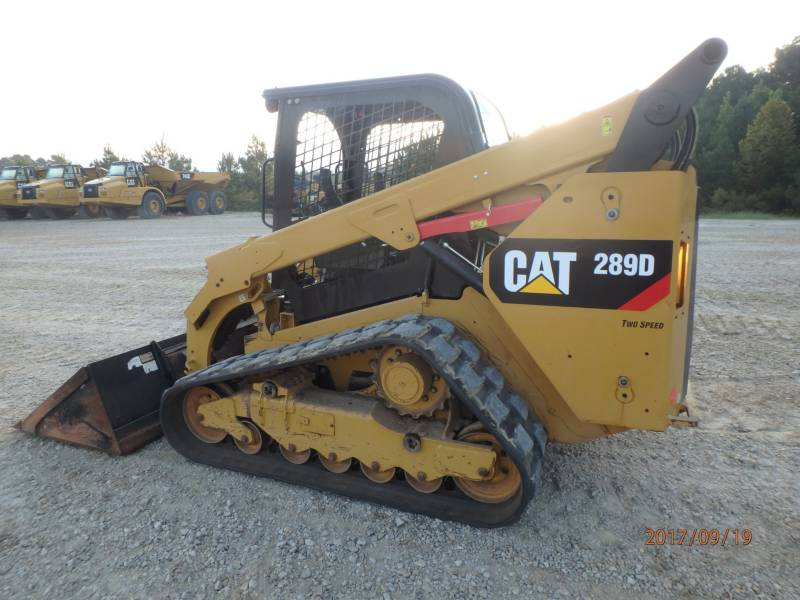 CATERPILLAR DELTALADER 289D equipment  photo 4