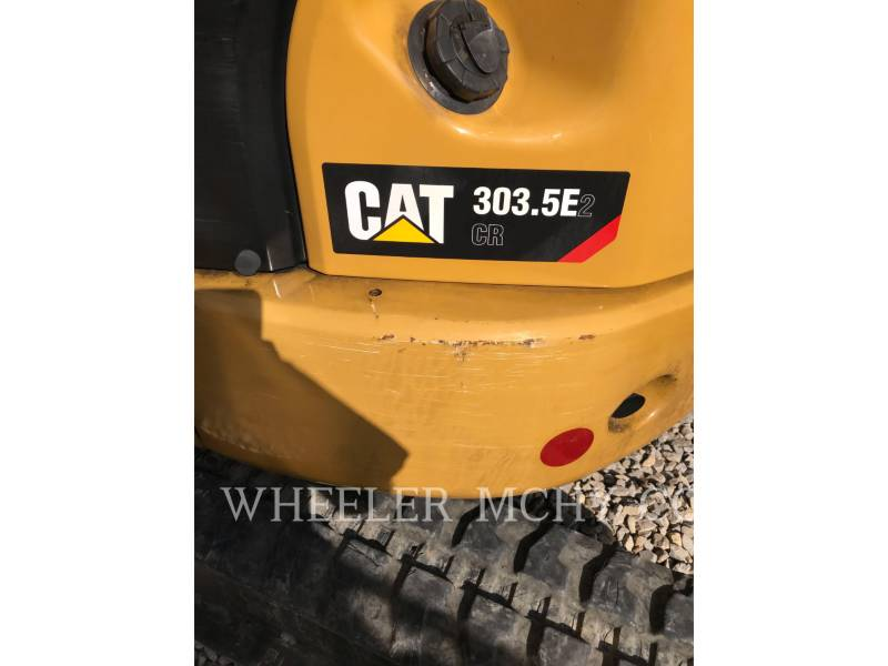 CATERPILLAR トラック油圧ショベル 303.5E2C3T equipment  photo 5