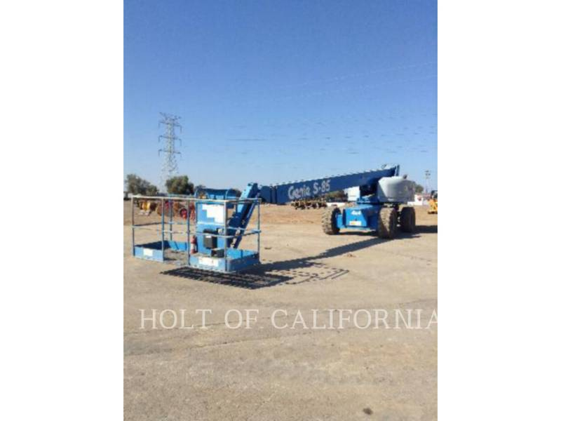 GENIE INDUSTRIES LIFT - BOOM BOOM S85 equipment  photo 1