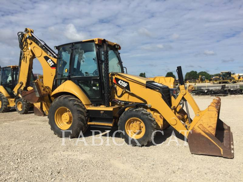 CATERPILLAR BACKHOE LOADERS 420F HT equipment  photo 1