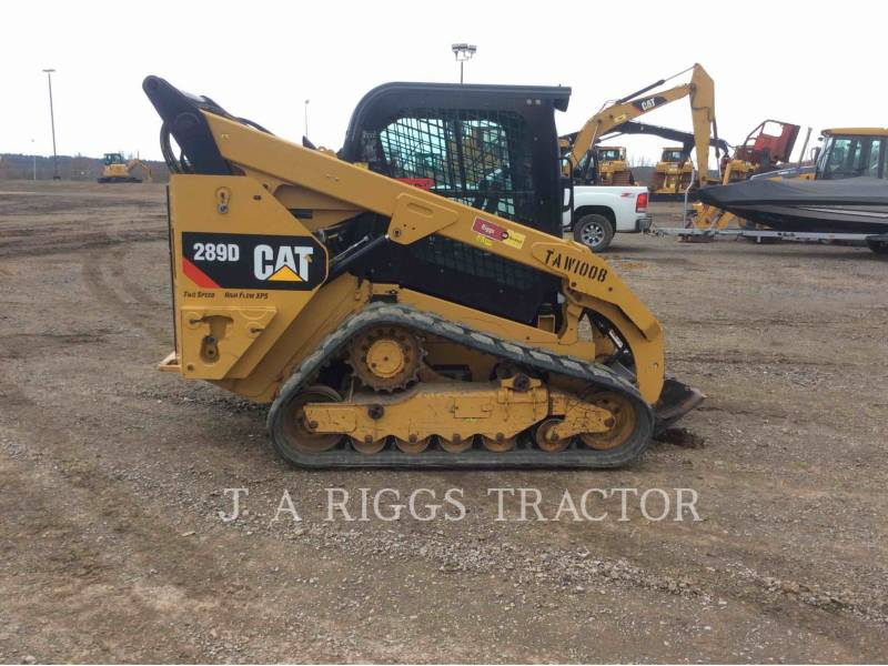 CATERPILLAR SKID STEER LOADERS 289D AH equipment  photo 7