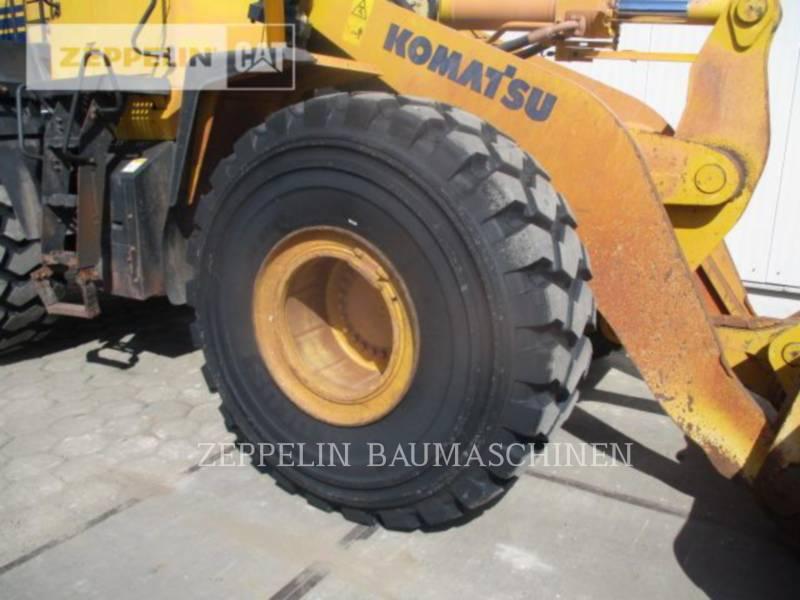 KOMATSU LTD. CARGADORES DE RUEDAS WA480LC-6 equipment  photo 9
