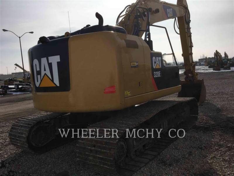 CATERPILLAR TRACK EXCAVATORS 320E LRRTH equipment  photo 4