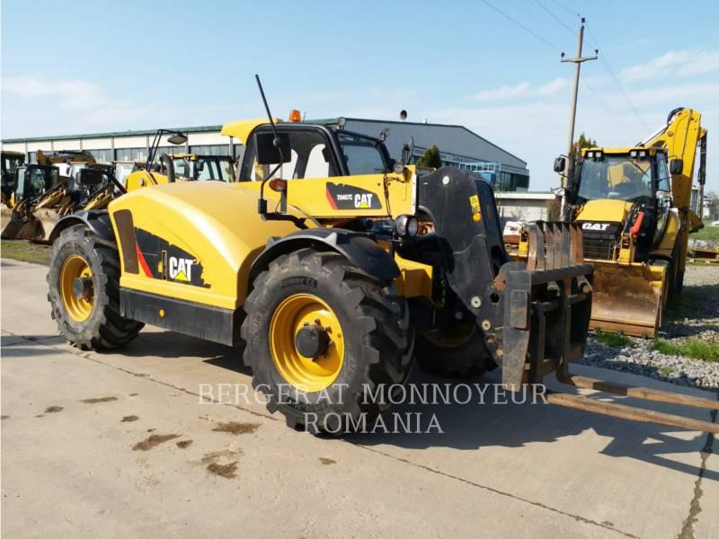 CATERPILLAR CHARGEUR À BRAS TÉLESCOPIQUE TH 407 C AGRI equipment  photo 1