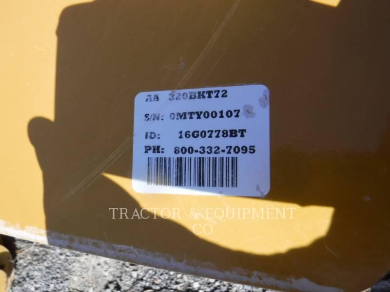 CATERPILLAR WT - BUCKET 320BKT72PO equipment  photo 4