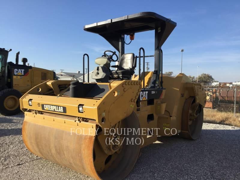 CATERPILLAR コンパクタ CB54XW equipment  photo 1