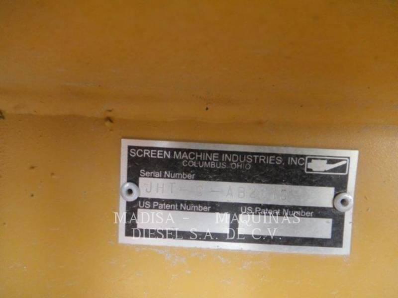SCREEN MACHINE CHIPPER, HORIZONTAL JHT   equipment  photo 5