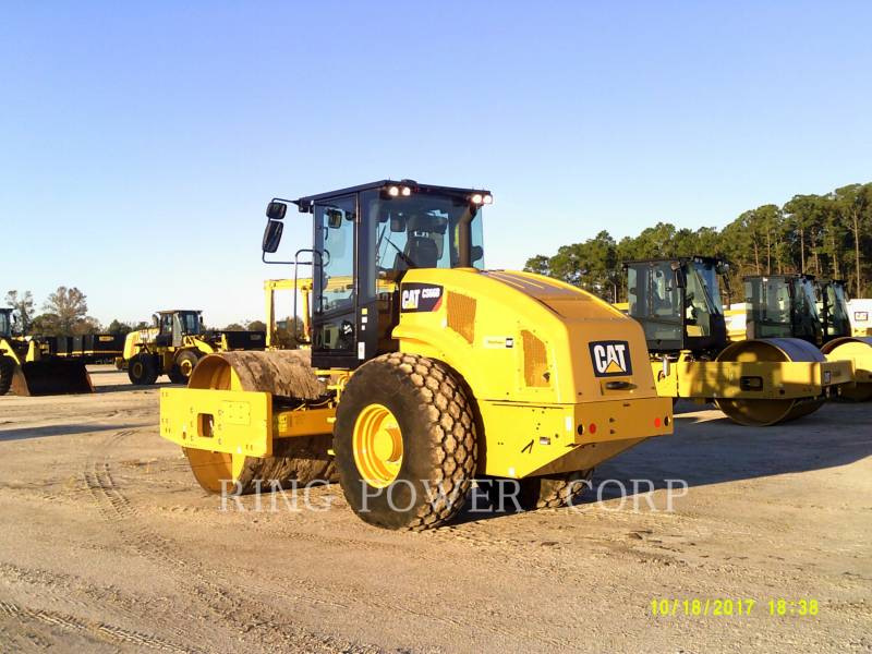 CATERPILLAR TAMBOR DOBLE VIBRATORIO ASFALTO CS66BCAB equipment  photo 2