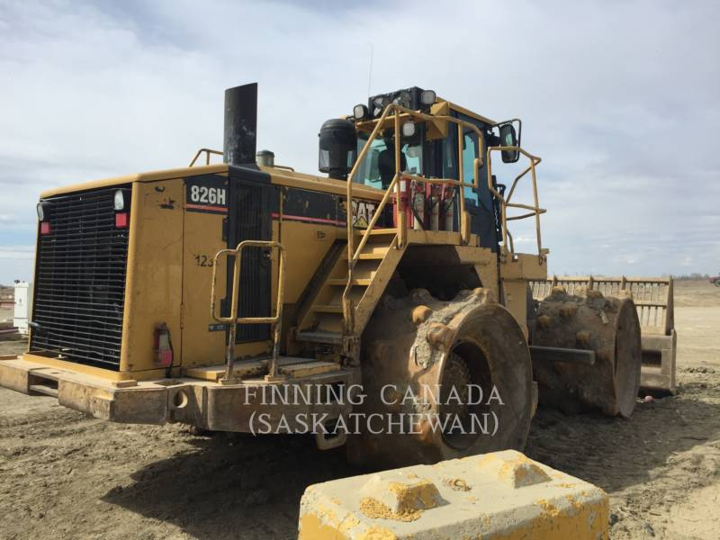 CATERPILLAR COMPACTADORES 826H equipment  photo 4