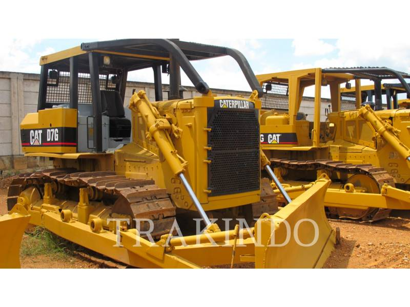 CATERPILLAR TRACTORES DE CADENAS D7G equipment  photo 1