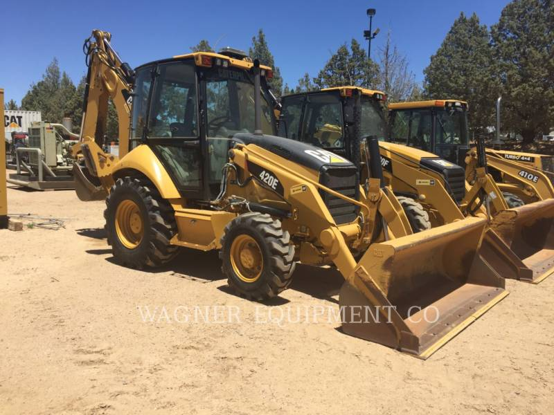 CATERPILLAR CHARGEUSES-PELLETEUSES 420E 4WDE equipment  photo 1
