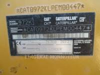 CATERPILLAR MINING WHEEL LOADER 972K equipment  photo 2