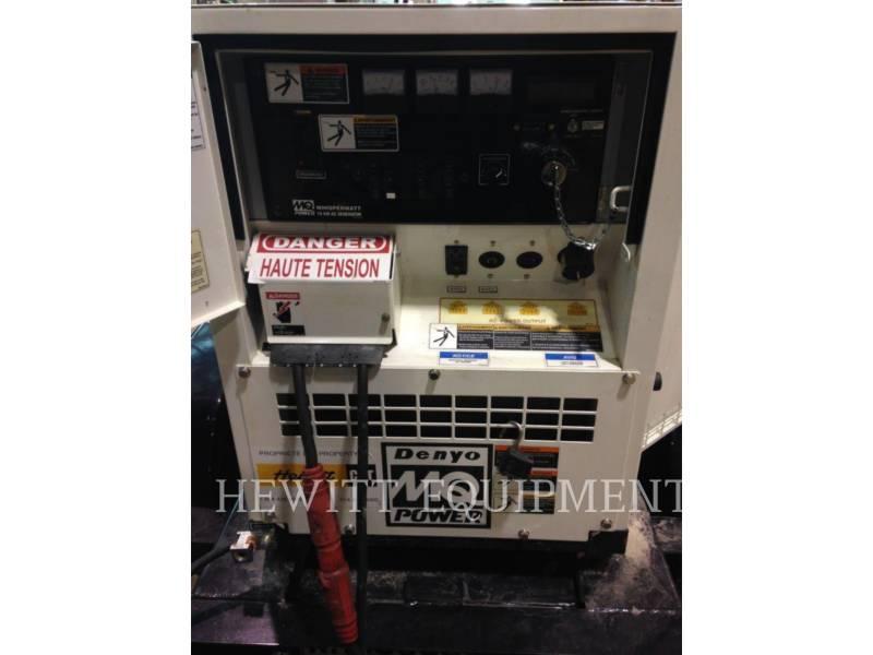 MULTIQUIP PORTABLE GENERATOR SETS XQ15 equipment  photo 7