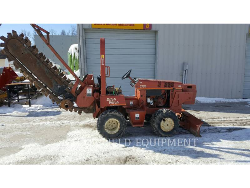 DITCH WITCH (CHARLES MACHINE WORKS) ZANJADORAS 3700 equipment  photo 1