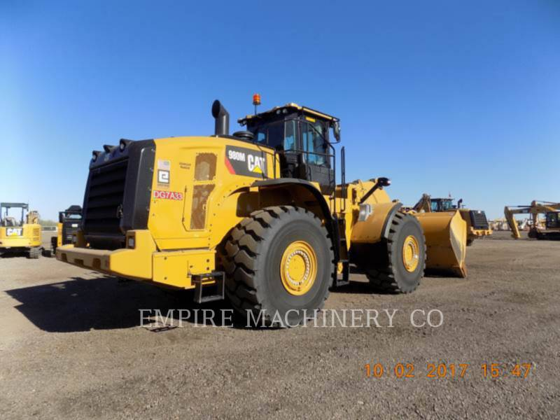 CATERPILLAR WHEEL LOADERS/INTEGRATED TOOLCARRIERS 980M PAY equipment  photo 2