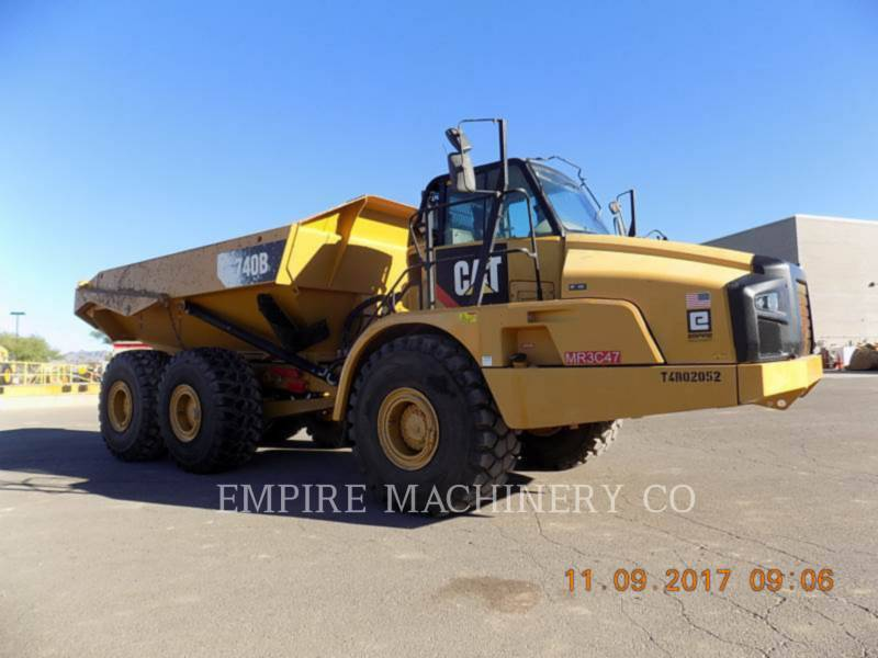 CATERPILLAR MULDENKIPPER 740B TG equipment  photo 1