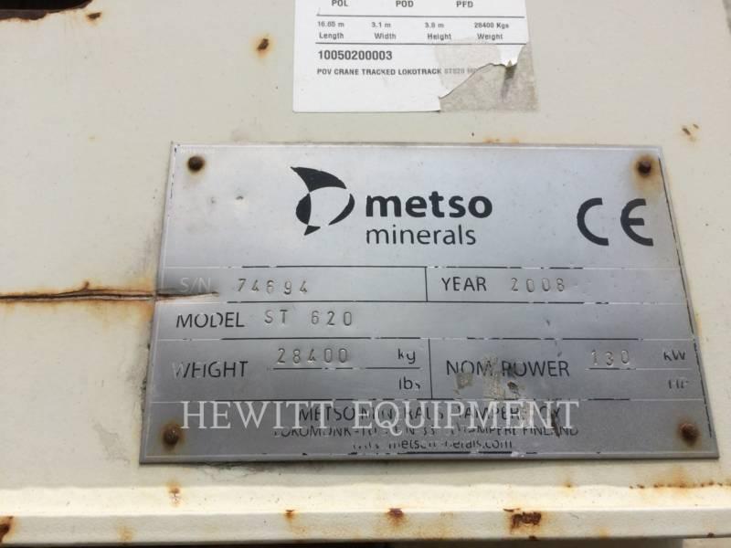 METSO CRIBAS ST620 equipment  photo 5