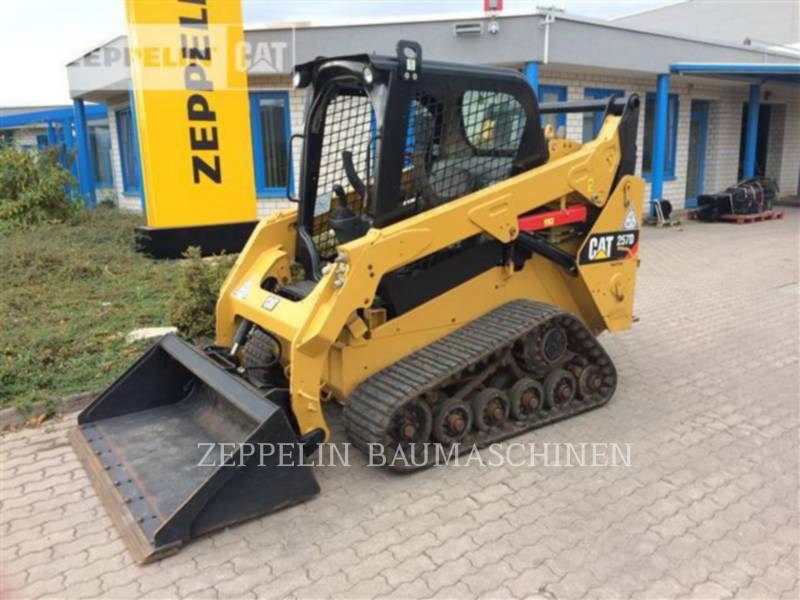 CATERPILLAR KOMPAKTLADER 257D equipment  photo 1