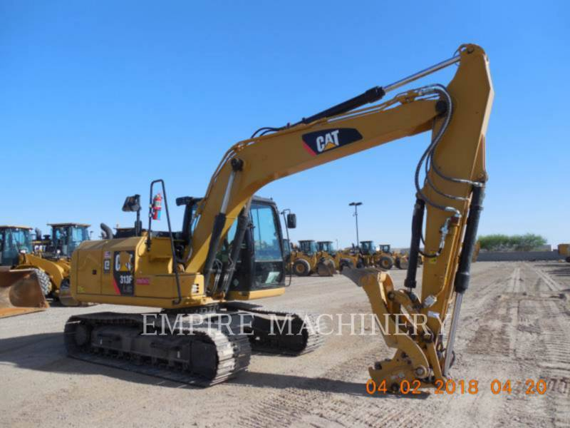 CATERPILLAR TRACK EXCAVATORS 313FLGC equipment  photo 1