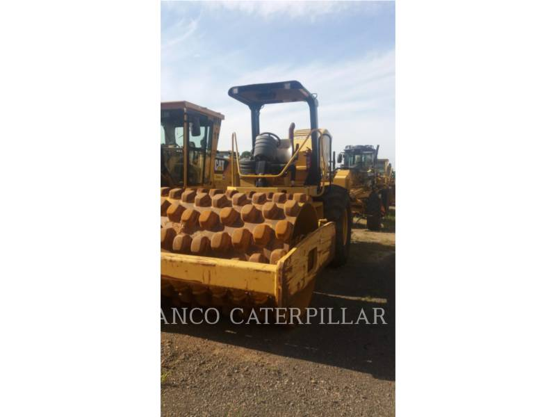 CATERPILLAR COMPATTATORE A SINGOLO TAMBURO VIBRANTE TASSELLATO CP-533E equipment  photo 1
