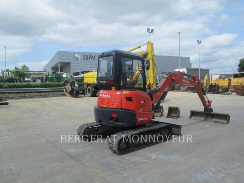 KUBOTA TRACTOR CORPORATION TRACK EXCAVATORS U35 equipment  photo 6