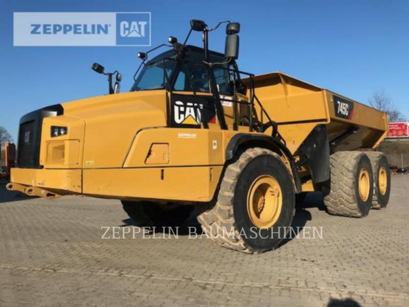 ACKERMAN (SWEDEN) KNICKGELENKTE MULDENKIPPER 745C equipment  photo 1