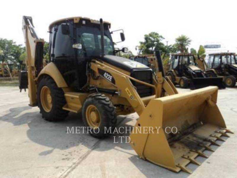 CATERPILLAR BAGGERLADER 422E equipment  photo 4