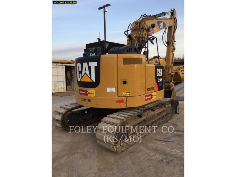 CATERPILLAR TRACK EXCAVATORS 314ELCR9 equipment  photo 4