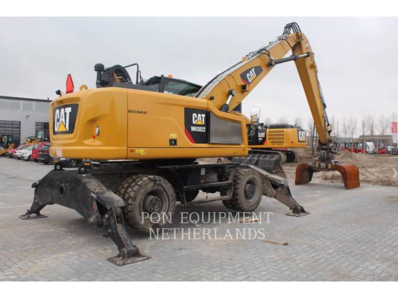 CATERPILLAR WHEEL EXCAVATORS MH3022 equipment  photo 2