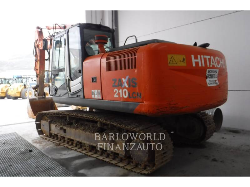 HITACHI RUPSGRAAFMACHINES ZX210 equipment  photo 3