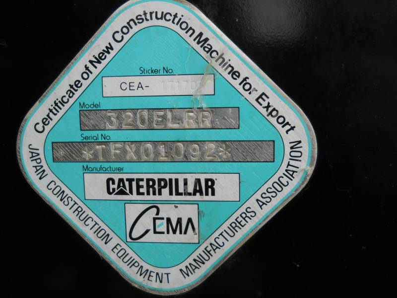 CATERPILLAR EXCAVADORAS DE CADENAS 320ELRR equipment  photo 24