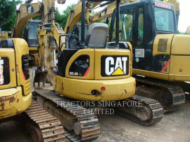 CATERPILLAR KETTEN-HYDRAULIKBAGGER 303.5DCR equipment  photo 2
