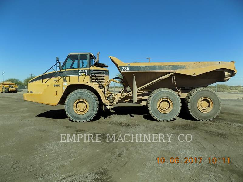 CATERPILLAR ダンプ・トラック 735 equipment  photo 2