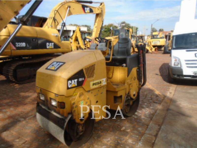 CATERPILLAR COMPACTEURS TANDEMS VIBRANTS CB14 equipment  photo 2