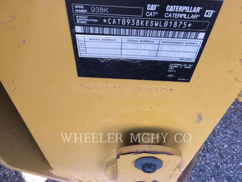 CATERPILLAR WHEEL LOADERS/INTEGRATED TOOLCARRIERS 938K QCF equipment  photo 2