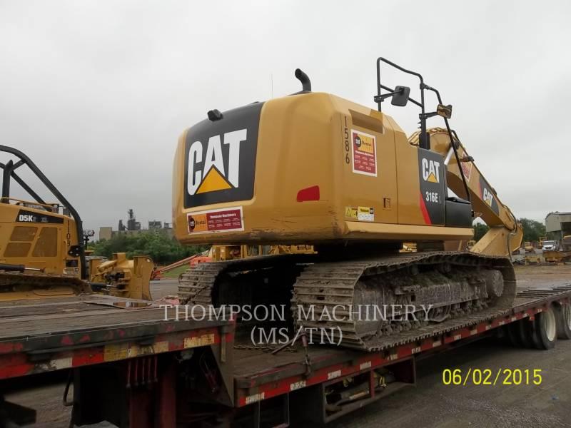 CATERPILLAR TRACK EXCAVATORS 316E equipment  photo 2