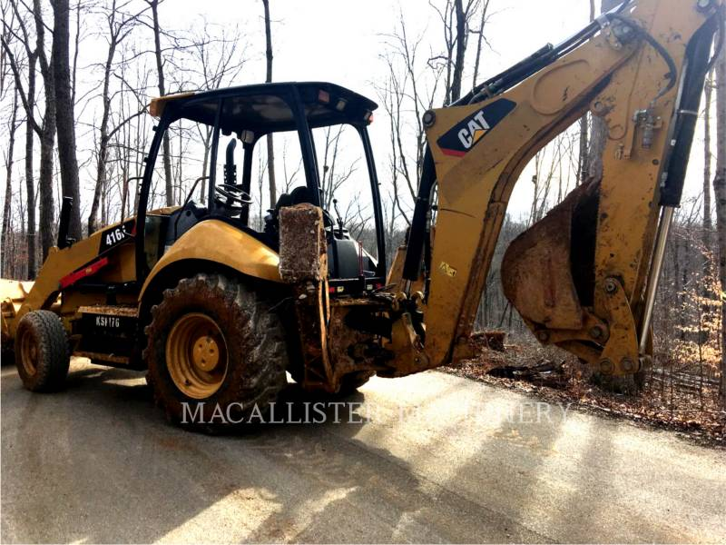 CATERPILLAR BACKHOE LOADERS 416 F equipment  photo 2