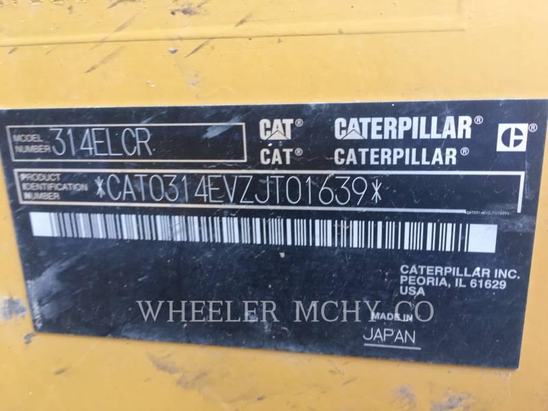 CATERPILLAR TRACK EXCAVATORS 314E L CF equipment  photo 10