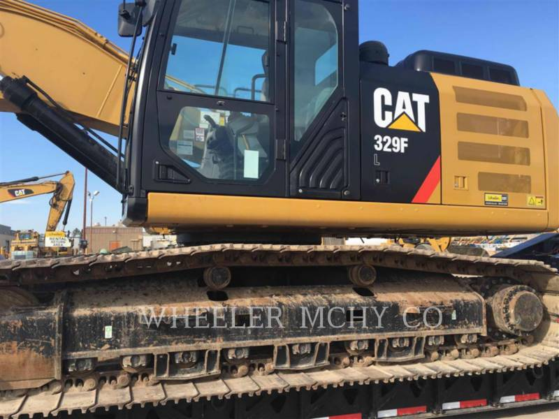 CATERPILLAR TRACK EXCAVATORS 329F L CFM equipment  photo 2