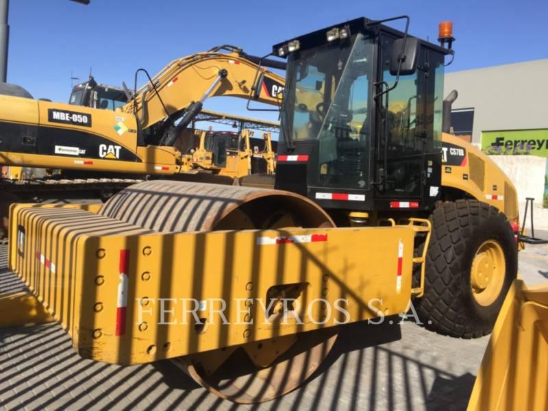 CATERPILLAR COMPATTATORE A SINGOLO TAMBURO VIBRANTE LISCIO CS78B equipment  photo 1